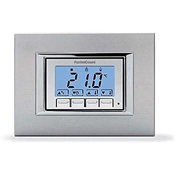 Fantini cosmi ch121 termostato retroilluminato da incasso for Fantini cosmi c50