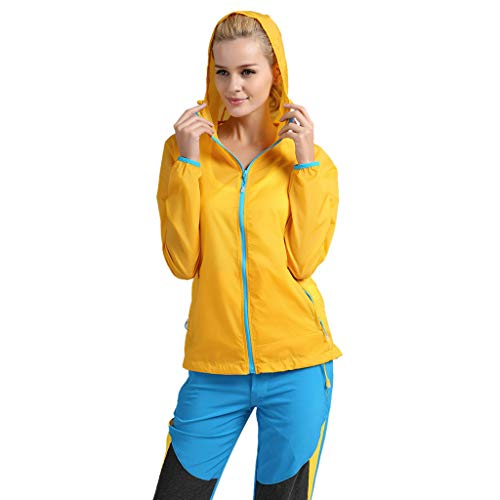 Setsail Frauen Herren Winddichte Jacke Outdoor Fahrrad Sport Quick Dry Windbreaker Coat Top (Frauen Klassischen Blazer)
