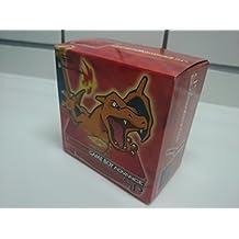 GameBoy Advance - Konsole GBA SP inkl. Netzteil #Charizard Fire Red Pokemon Edition