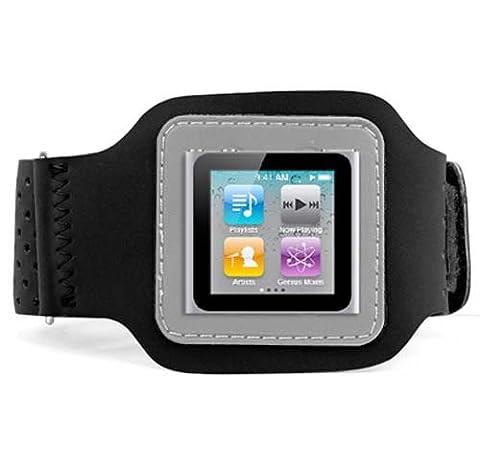 DIGIFLEX Brassard sport noir pour Apple iPod Nano 6ème génération