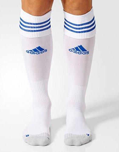 adidas Adisock 12 Medias, Hombre, Blanco / Azul (White / Cobalt), 31-33