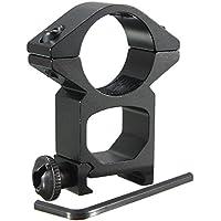 MASUNN 25mm de Alto Perfil Anillo Alcance Weaver Rail Mount 20mm Picatinny para Linterna