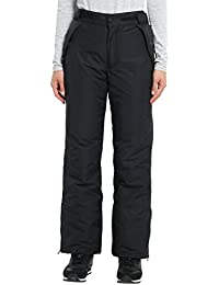 Ultrasport Arlberg - Pantalones de esquí para mujer, color negro, talla M