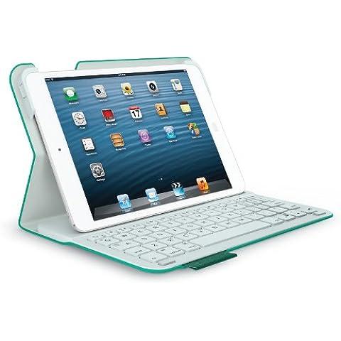 Logitech Ultrathin Keyboard Folio - fundas para tablets (Folio, Verde, Apple, 15,9 cm, 1,93 cm, 21,5 cm)