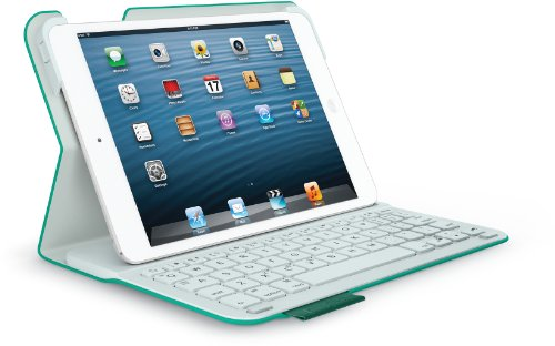 Logitech Ultrathin Keyboard Folio m1 for iPad mini Green Leash (QWERTZ, deutsches Tastaturlayout)