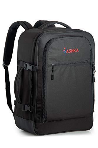 Zaino Vaska approvato come bagaglio a mano capacità 44 litri 55x40x20 cm - Nero