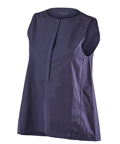 Falke shorts leeved polo women abbigliamento sportivo, donna, shortsleeved polo women, blu notte, 2xl