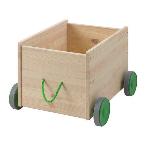 IKEA flisat-Caja de juguete y de almacenamiento con...