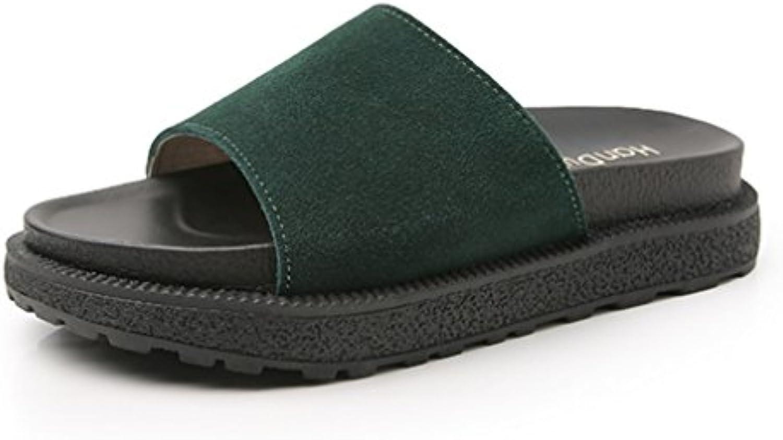 NVXIE Donna Slider Mules pantofola sandali Le signore Piatto Scarpe sfocato Soffice comodo Aperto Dito del piede... | Louis, in dettaglio  | Sig/Sig Ra Scarpa