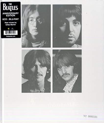 The Beatles (The White Album) 50th Anniversary Edition - coffret de 6 CD Bluray