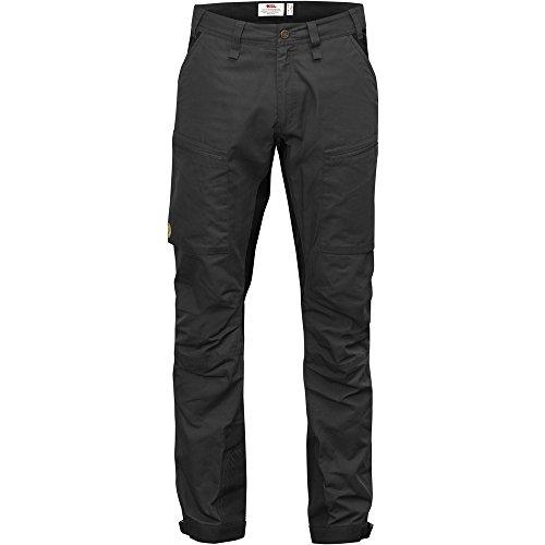 FjallRaven Pantalon de voyage Abisko Lite Trekking Trousers Dark Grey