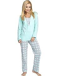 Be Mammy Mujer Lactancia Pijamas Dos Piezas Grete