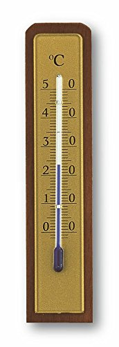 ermometer, Natur, 3 x 1.6 x 18 cm (Holz Innen Thermometer)