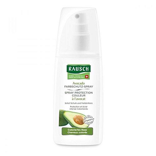 Rausch Avocado Farbschutz-Spray (schützt das Haar vor dem Ausbleichen und schenkt seidigen Glanz, ohne Silikone und Parabene - Vegan), 1er Pack (1 x 100 ml)