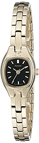Pulsar Damen pph552 Kleid Analog Display Japanisches Quartz Gold Watch