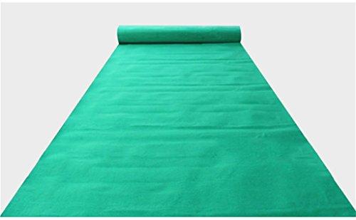 (Einweg-Hochzeit Teppich/One-Time-Thema Veranstaltung Teppich/Hotel Willkommen/Abschluss / Abendessen/Eröffnungsfeier / Business-Ausstellung Anti-Rutsch-Teppich ca. 2mm dick (grün))