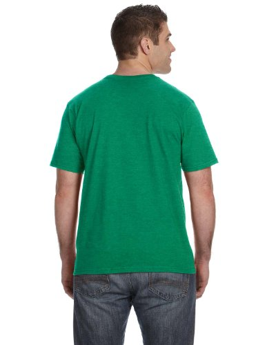 Vokuhila Girl auf American Apparel Fine Jersey Shirt Heather Green