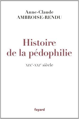 Histoire de la pédophilie: XIXe-XXIe siècles