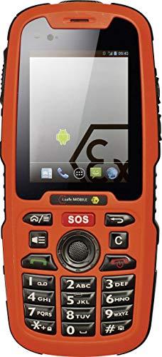 Safe Mobile (i.safe MOBILE IS320.1 Ex-geschütztes Handy für ATEX Zone 1/21 6.1cm (2.4 Zoll) IP68, Wasserdicht,)