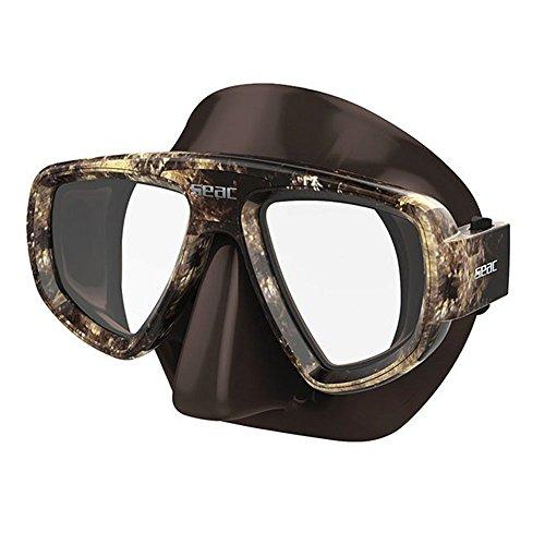 Seac Extreme Kama Maske Unisex Erwachsene, Braun Camouflage