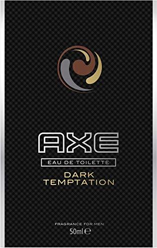 AXE Eau de Toilette Dark Temptation, für einen langanhaltenden Duft würzig-süße Mischung, 1 Stück (1 x 50 ml)