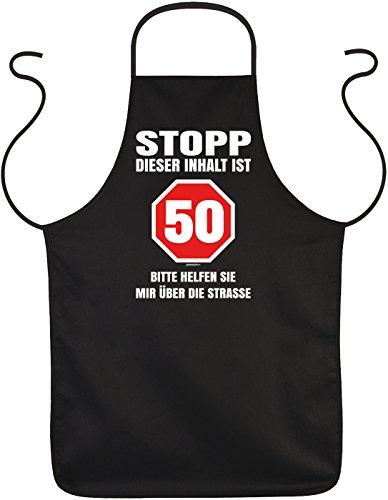 prüche/Spaß-Schürze Thema Geburtstag: Stopp Dieser Inhalt ist 50 Bitte helfen sie mir über die Straße (50 Geburtstag Party-themen Für Sie)