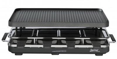 Raclette8 alu grillplaat - zwart Spring 3267517001 Raclette8