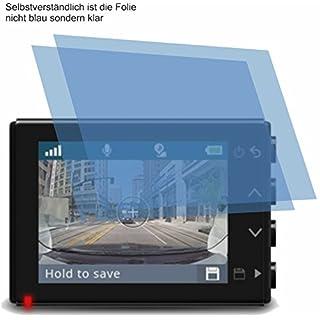 2x ANTIREFLEX matt Schutzfolie für Garmin Dash Cam 65W Displayschutzfolie Bildschirmschutzfolie Schutzhülle Displayschutz Displayfolie Folie