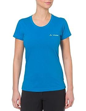VAUDE T-Shirt Womens Brand Shirt - Camiseta, color azul verdoso, talla 38