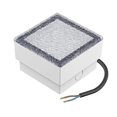 parlat LED Pflasterstein Bodenleuchte CUS, 10x10cm, 230V, weiß (Set wählbar)