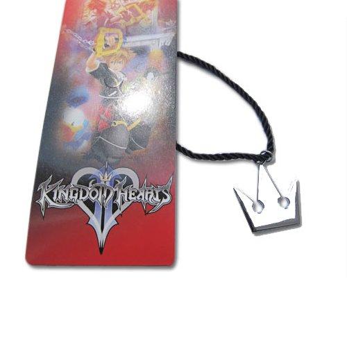 KINGDOM HEARTS COLLANA REPLICA COSPLAY BIANCA CORONA SORA CROWN METALLO Laccio (Kingdom Hearts Corona)