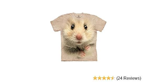 "The Mountain Enfants T-shirt /""Hamster face/"""