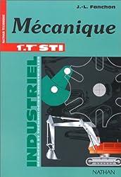 Guide mécanique, 1re et terminale STI, 1996. Livre de l'élève