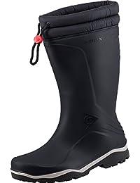 Dunlop blizzard bottes d'hiver unisexe avec intérieur en fourrure synthétique