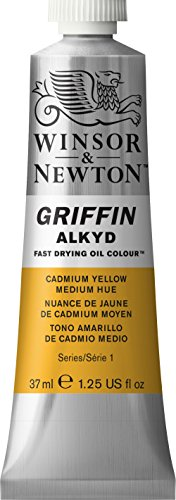 winsor-newton-griffin-alkyd-tubo-leo-de-secado-rpido-37-ml-tono-amarillo-de-cadmio