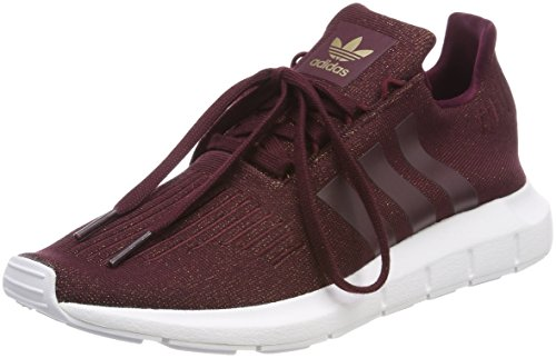 Adidas Swift Run W, Zapatillas de Deporte para Mujer, Rojo (Granat/Granat/Ftwbla 000), 38 2/3 EU