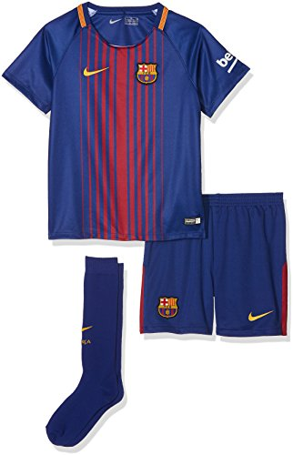 Nike FCB LK NK BRT Trainingsanzug Fußball, Kinder, Blau (Deep Royal Blue/University Gold), M