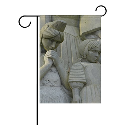 Josid Garten Flagge Banner Monument to The Breton Schmerzen Mädchen Sailor 30,5x 45,7cm Doppelseitig 12x18 inches Image 889 - Breton Rose