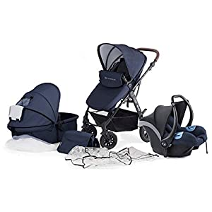 KinderKraft Moov Travel System (Navy)   12