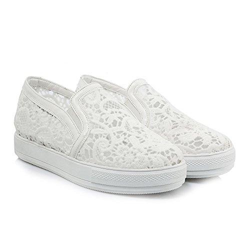 Em Brancos Vendas Do Redondo Lesbie Bombas De Dedo Pé Menor Desenhar Senhoras Sapatos Puramente Voguezone009 C6qvwBR