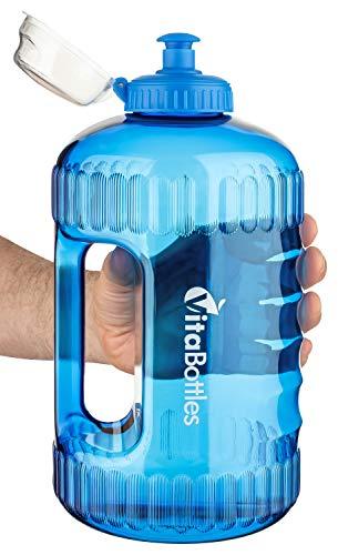 Zoom IMG-2 bottiglia vitabottle nera da usare