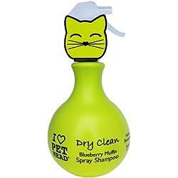 Pet Head 0850629004855 - Gato Dry Clean (ch. En seco Gatos) 450 ml