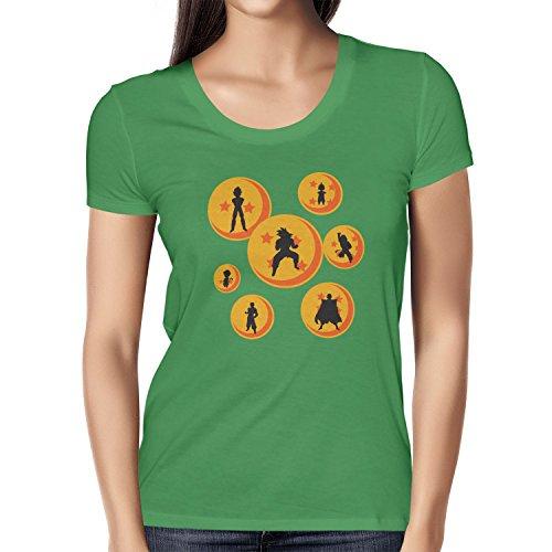 TEXLAB - The Balls - Damen T-Shirt, Größe M, (Dragon Gt Ball Costumes)