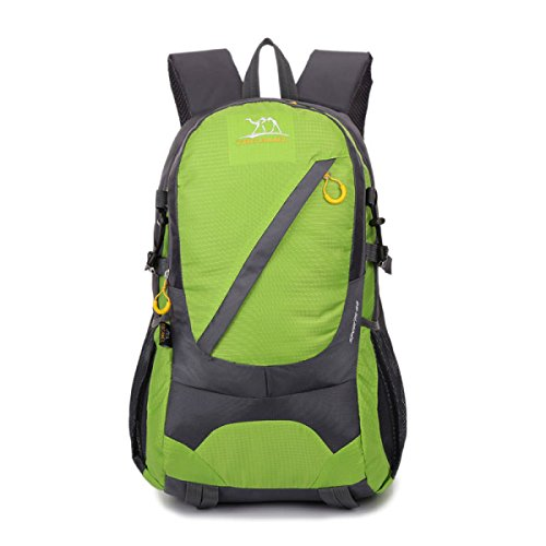 LQABW Zaino Da Equitazione Arrampicandosi All'aperto 35L Travel Sports Bag,Blue Green