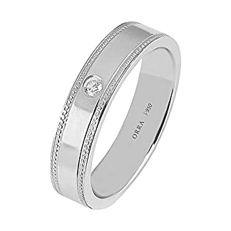 ORRA Couple Collection 950 Platinum Diamond Ring