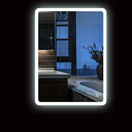 Turefans Increíble Espejo de iluminación para baño, Interruptor de Toque Espejo,...