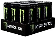 Monster Energy Drink , Can - 250ml (Pack of 12)