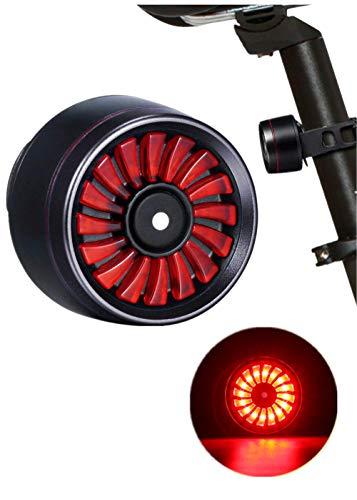 Sunsbell Fahrrad Rücklicht USB wiederaufladbare wasserdichte Smart Brake LED Lampe Sicherheitswarnung Blitzlicht