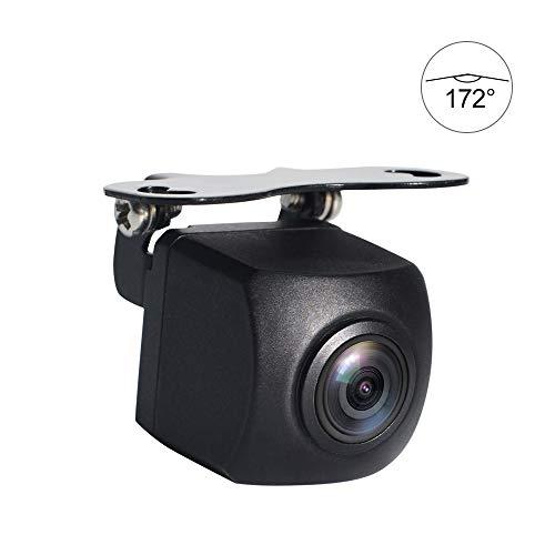 PARKVISION Rückfahrkamera, 172° Superweitwinkelkamera, 0 Lux Mega-Pixel Rückfahrkamera,Nachtsicht Auto Rückansicht Kamera Rückfahrkamera Einparkhilfe für Rückfahrsystem PKW & LKW Autokamera