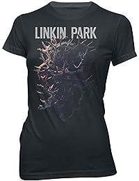 Linkin Park Stag Tour Camiseta Negro
